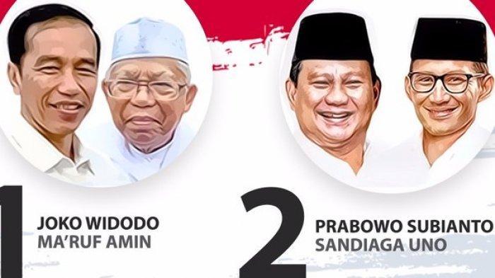 Hasil Exit Poll Pilpres, LSI Denny JA: Jokowi-Ma'ruf 56,4 Persen, Prabowo-Sandi 43,6 persen