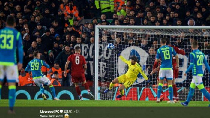 (VIDEO) Penyelamatan Dramatis Alisson Becker Selamatkan Muka Liverpool