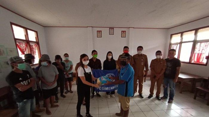 GAMKI Minahasa Bantu Korban Banjir di Mitra