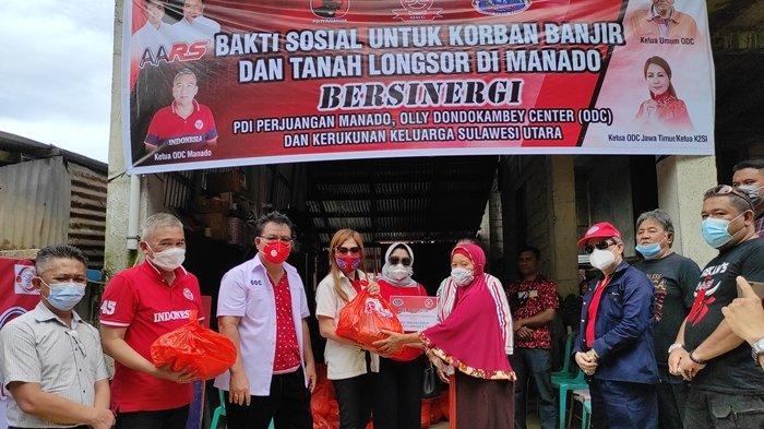 K2SI dan ODC Jatim Peduli, Bawa Bantuan untuk Korban Banjir Manado