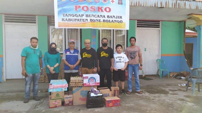 Otban 8 Manado Peduli, Bantu Bahan Pokok ke Korban Banjir Bone Bolango