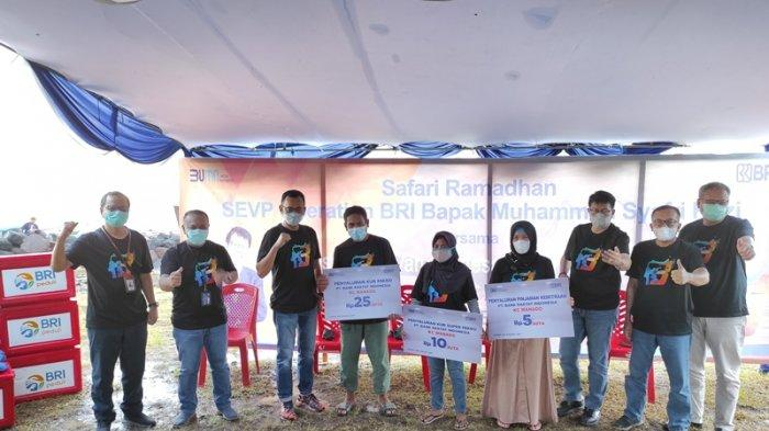 CSR BRI Kanwil Manado Berdayakan Klaster Nelayan Penangkap Tuna di Minut