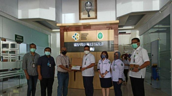 BRIliant Fight Covid-19, Komisaris BRI Donasikan Rp 100 Juta untuk RSUP Kandou Manado