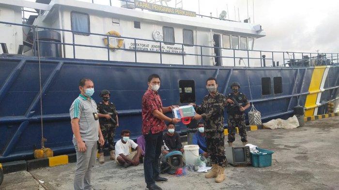 Pakai Cara Pemantauan dan Intercept, Lagi KKP Tangkap Dua Kapal Ilegal Fishing