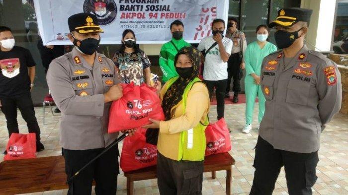 Julika Penyapu Jalan di Bitung Berterima Kasih ke Akpol Angkatan 94