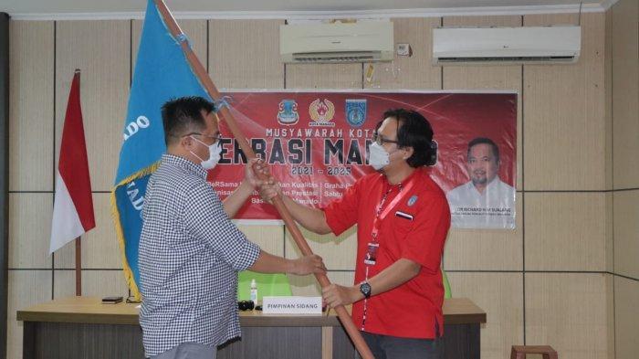 Wakil Wali Kota Manado Terpilih Richard Sualang, Kembali Jabat Ketua Perbasi Manado