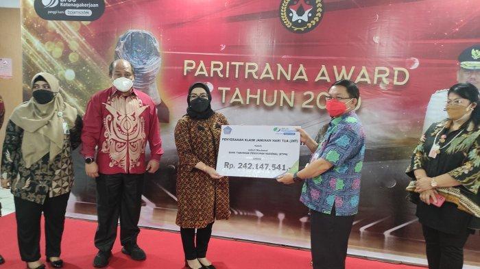 Membanggakan, Sulut Kembali Raih Paritrana Award, Penghargaan Bidang Perlindungan Ketenagakerjaan