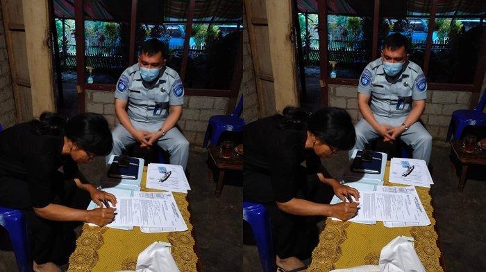 JR Sulut Bayar Santunan ke Ahli Waris Meikel Maringka dan Korban Lain Lakalantas Depan Kodam