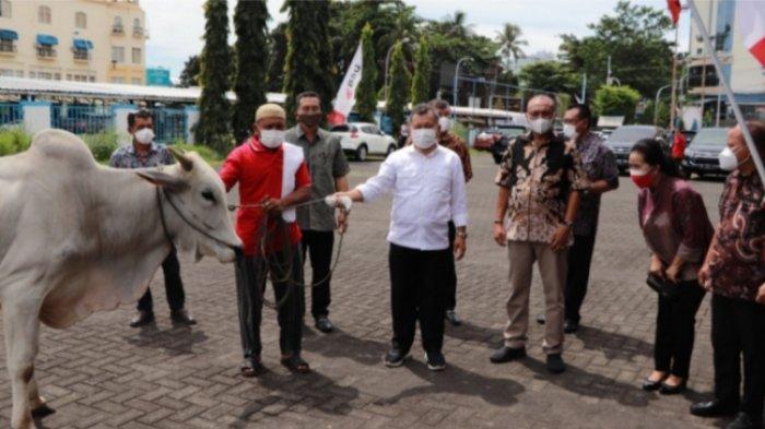 BSG Peduli di Hari Raya Kurban, Berbagi kepada Pegawai Non Organik dan Mustahik di Manado