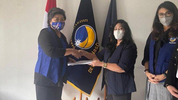 Sherly Tjanggulung Pimpinan Garda Wanita Malahayati Sulut, Siap Besarkan NasDem di Sulut