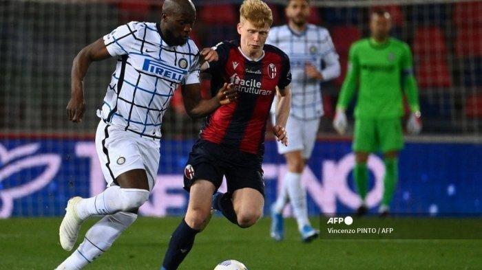 Hasil Bologna vs Inter Milan, Romelu Lukaku Bawa Nerazzurri 9 Kali Tanpa Kekalahan, Kokoh Dipuncak
