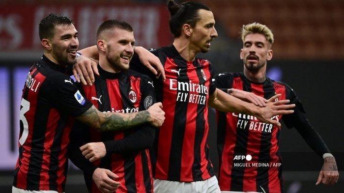 Hasil Akhir AC Milan vs Lazio: Rossoneri Menang 2-0, Zlatan Ibrahimovic dan Rafael Leao Gemilang