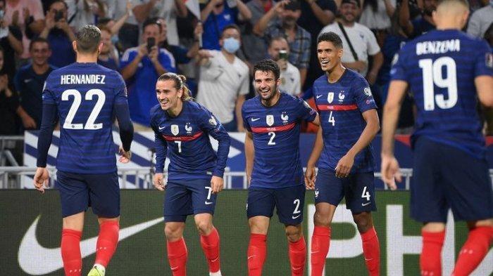 Hasil Kualifikasi Piala Dunia 2022, Griezmann Tampil Gemilang, Perancis Menang Lawan Finlandia 2-0
