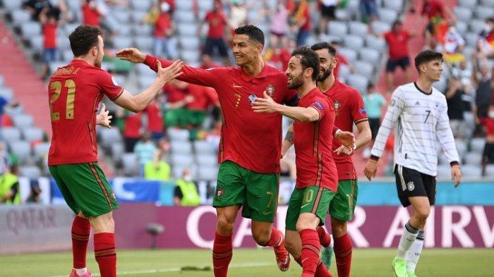 LIVE STREAMING Portugal vs Prancis Euro 2020, Deschamps Ingatkan Les Bleus Mewaspadai Ronaldo