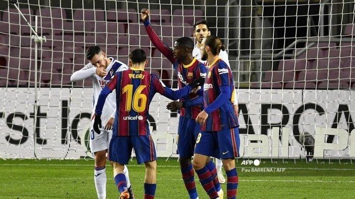 KLASEMEN Liga Spanyol Setelah Barcelona Ditahan Imbang Eibar 1-1 di Stadion Camp Nou Tadi Dini Hari