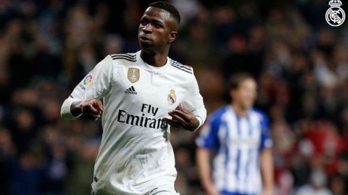 Jelang Inter Milan VS Real Madrid, Menanti Aksi Vinicius Junior