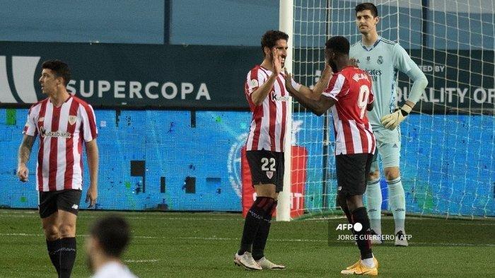 Hasil Piala Super Spanyol Real Madrid vs Athletic Bilbao, El Real Takluk, El Clasico Gagal Terjadi