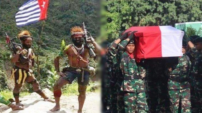 KKB Papua Terbaru: Anggota TNI Tewas Ditembak KKB Pimpinan Jefrison Pagawak, Serda Miftachur Gugur
