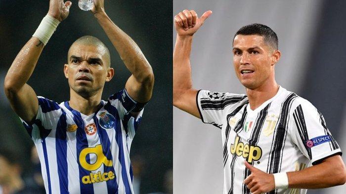 Prediksi Liga ChampionsPorto Vs Juventus, Ronaldo Bakal Diadang Pepe, Berikut Susunan Pemainnya