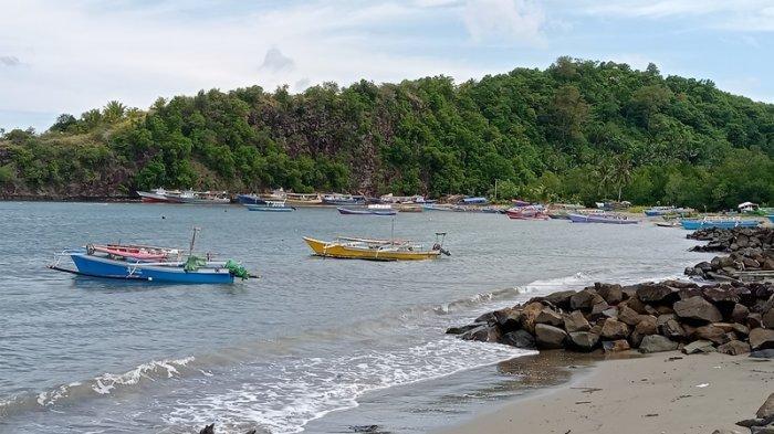 Ombak Disertai Angin Kencang di Perairan Boltim, Sebagian Nelayan Loyow Enggan Melaut
