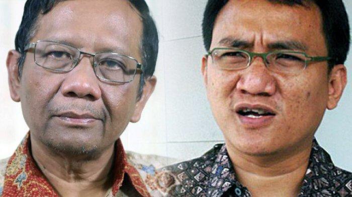 Perang Komentar Mahfud MD & Andi Arief soal Presidential Threshold, Telak ke Mantan Kader Demokrat