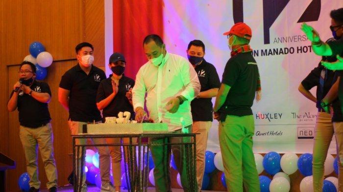 Aston Manado Hotel Rayakan HUT ke-12, Sederhana Tapi Meriah dan Bermakna