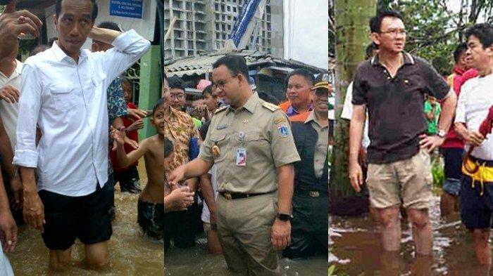 Pro-Anies Geram Gubernur Anies Dituding Tak Siap Tangani Banjir: di Masa Jokowi & Ahok DKI Tenggelam