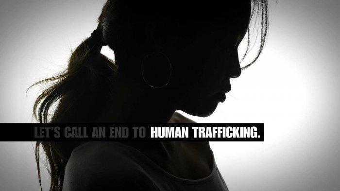 perdagangan manusia atau human trafficking ilustrasi