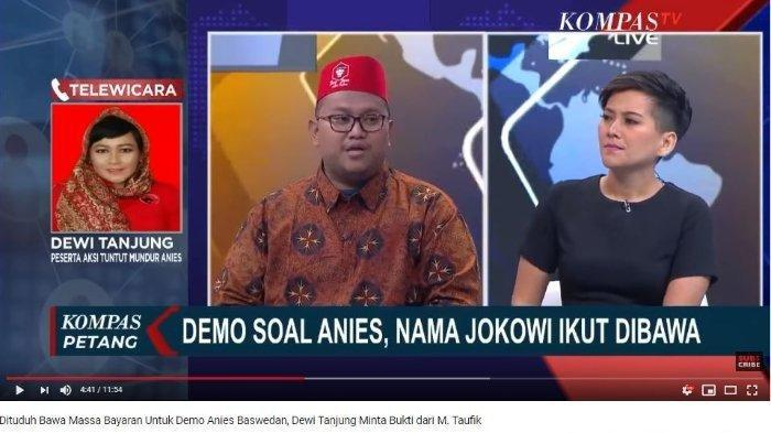 Debat Panas Soal Penanganan Banjir Jakarta, Dewi Tanjung Minta Hamim Belajar Hukum Dulu