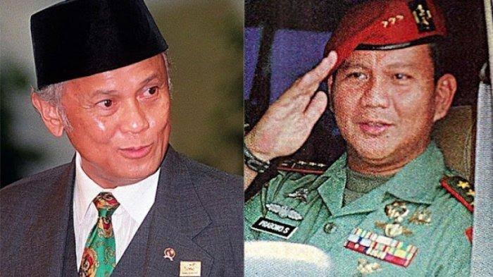 Cerita perdebatan Presiden Bacharuddin Jusuf Habibie dan Pangkostrad Letjen Prabowo Subianto pasca-lengsernya Soeharto Mei 1998.