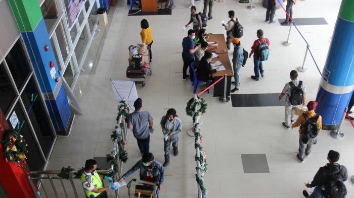 Libur Natal dan Tahun Baru, Jumlah Penumpang di Bandara Samrat Manado Turun 50 Persen