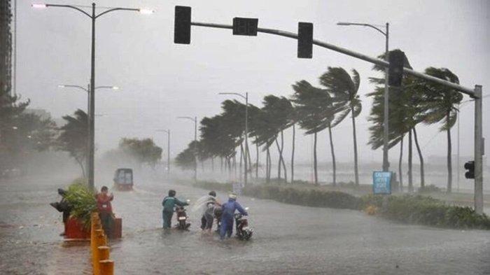 PERINGATAN DINI BMKG Selasa (23/3/2021), Waspada 23 Wilayah Dilanda Petir hingga Angin Kencang