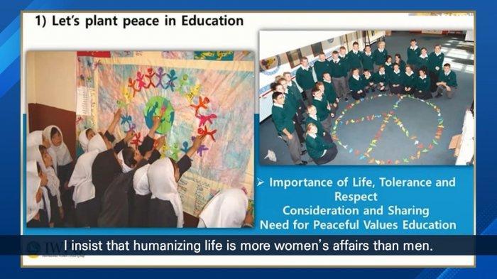 Peringatan Tahunan Ke-8 HWPL atas Deklarasi Perdamaian Dunia, Selasa (25/5/2021)