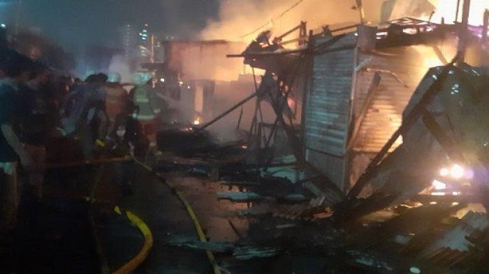 Kebakaran Tadi Malam, Suami Istri dan Anak Tewas Terbakar, Warga Tak Berani Mendekat Banyak Ledakan