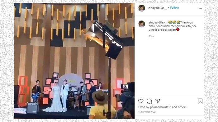 Pernikahan Natasha Wilona dan Stefan William di Sinetron Anak Band