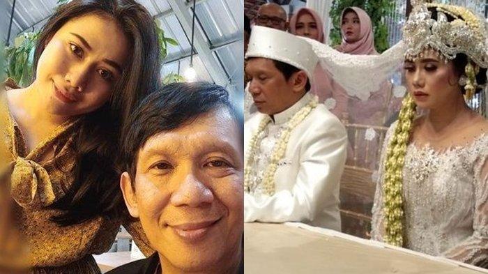 Pernikahan Pelawak Ginanjar Nikahi Gadis Cantik Tiara Amalia Hari Ini