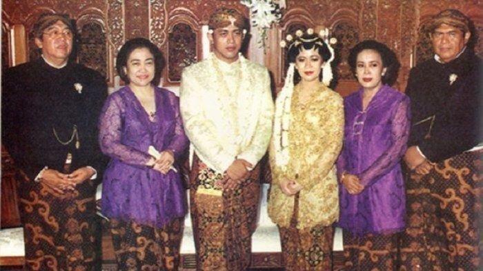 Pernikahan Puan Maharani dengan Happy Hapsoro