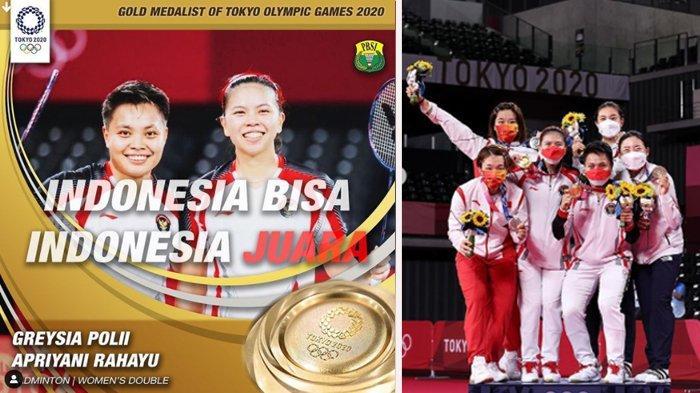 Greysia Polii, Atlet Berdarah Kawanua yang Sukses Meraih Emas di Ganda Putri Bulutangkis