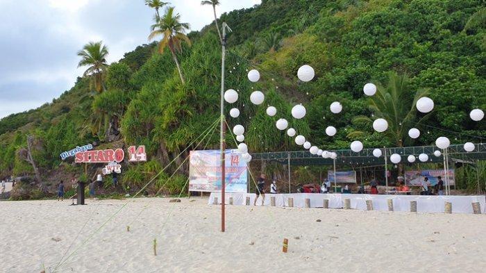 Menengok Persiapan Upacara Peringatan HUT ke-14 Sitaro di Pulau Mahoro