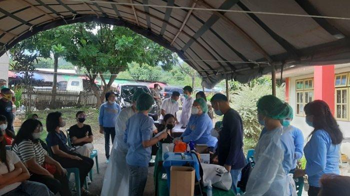 Seluruh Pedagang Pasar Beriman Tomohon Bakal Disuntik Vaksin Astrazeneca