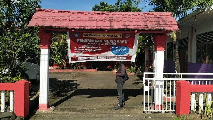 BERITA FOTO: Situasi Sekolah di Manado pada Masa PPKM Mikro