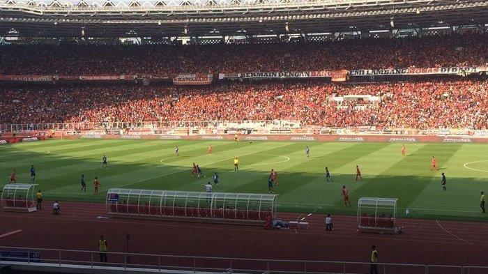 Tendangan Keras Bek Persija Berhasil Tundukan PSM Makassar di Final Pertama Piala Indonesia