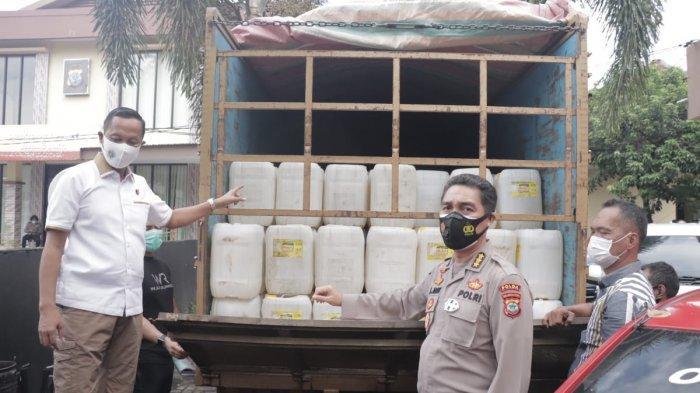 Sudah Siap Dikirim Ke Manokwari, 8.280 Liter Cap Tikus Akhirnya Diamankan Polda Sulut