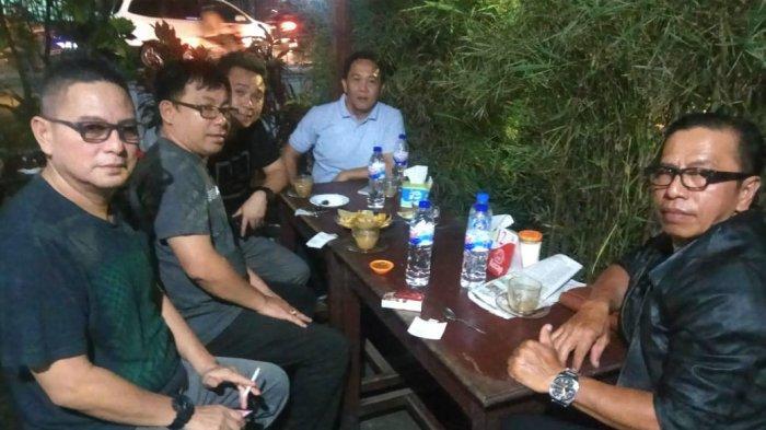 Personel Pokja Infokom IT, P/KB Sinode GMIM bersama Ketua Litbang dan Pokja Infokom IT, Pnt Alfa Pandey