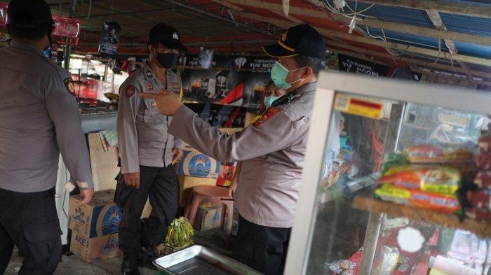Polsek Malalayang Kota Manado Kembali Mendapat Pelanggar Prokes
