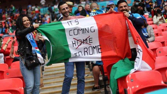 Tak Terkalahkan dalam 34 Laga, Italia Segel Titel Juara EURO 2020: Football is Coming to Rome