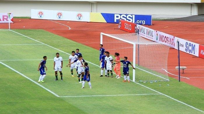 Hasil Piala Menpora 2021, PSIS Semarang Sukses Cukur Persikabo, Laskar Mahesa Jenar Rajai Grup A