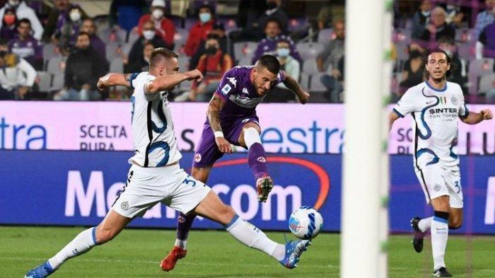 Pertandingan pekan kelima Liga Italia 2021-2022 antara Fiorentina dan Inter Milan di Stadion Artemnio Franchi, Rabu (22/9/2021) dini hari WIB.
