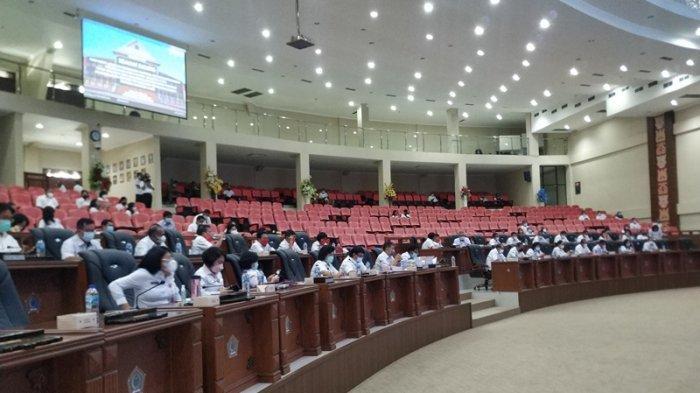 Pertanggungjawaban Olly Dondokambey Mulus,Mayoritas Fraksi di DPRD Setuju, Nasdem Absen Rapat
