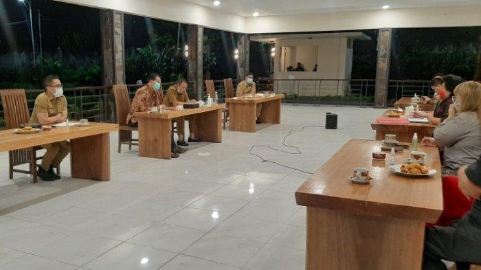 Pertemuan antara Pemkot dan Para Anggota DPRD Provinsi Sulawesi Utara dapil Minahasa Tomohon.